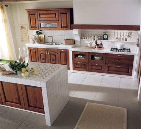 piastrelle per piano cucina muratura cucina in muratura 70 idee per cucine moderne rustiche