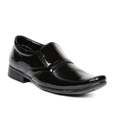 ten black patent leather formal shoes price in india buy