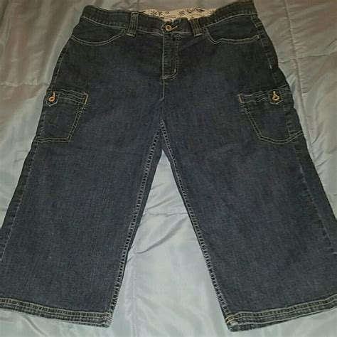 lee capris comfort waist lee denim capris breeze clothing