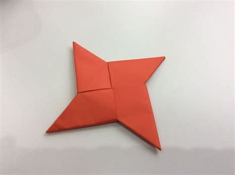 membuat origami shuriken how to fold an origami star shuriken with pictures
