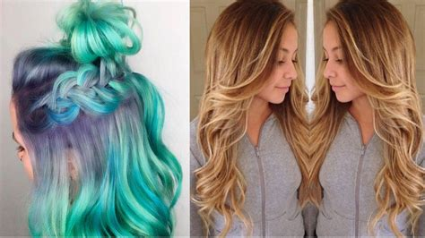 color melt hair technique color melting hair seamlessly replaces the ombr 233 trend