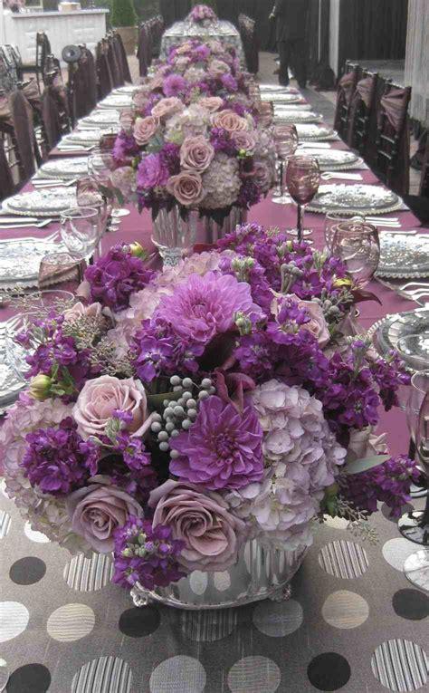 s sweet new jersey winter purple tree wedding centerpieces