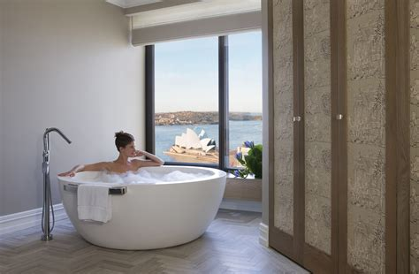 hotel with bathtub four seasons suite refurbishment reveals sydney s sexiest