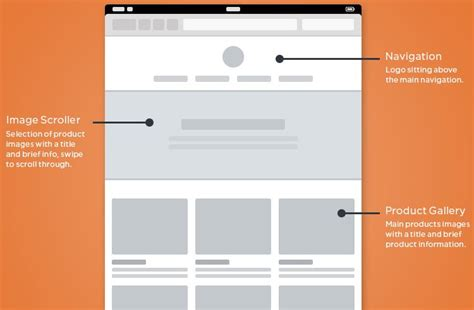 html page template 30 free web and mobile wireframe templates