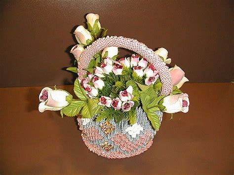 3d Origami Flower Basket - 1000 images about 3d origami on origami paper