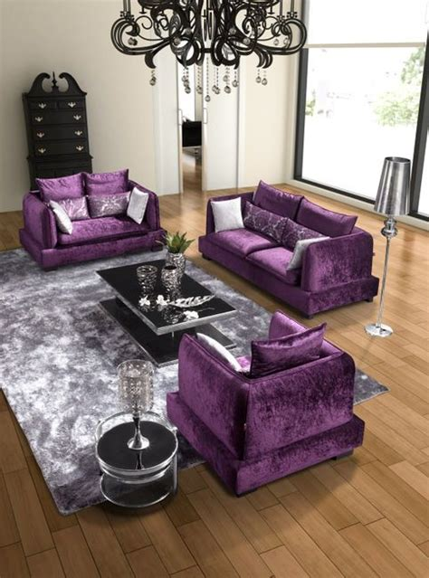 modern living room dream house pinterest purple
