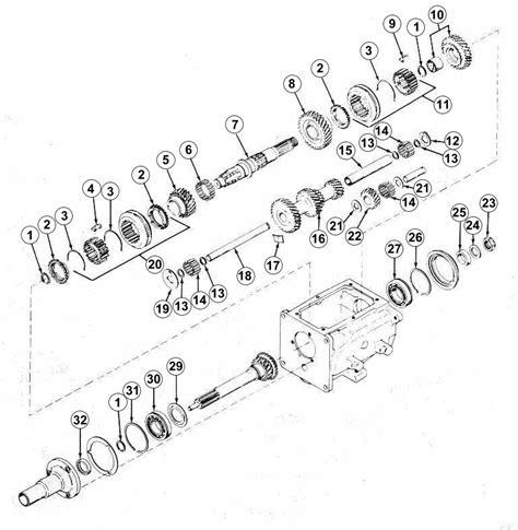 Jeep T 14 Transmission Parts 3 Speed Transmission Parts