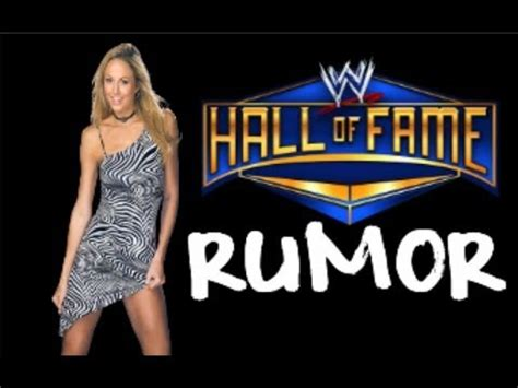 stacy keibler wwe hall of fame stacy keibler wwe hall of fame 2014 youtube