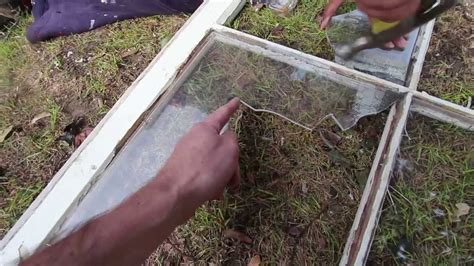make window making fake broken glass windows youtube