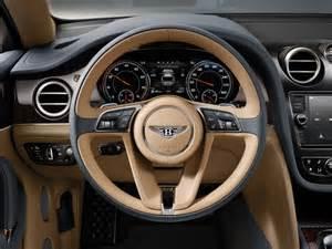 Bentley Suv Interior 2016 Bentley Bentayga Suv Interior Price Photos