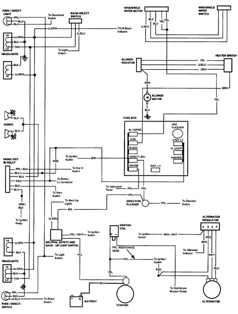 69 chevy alternator wiring diagram wiring diagram with