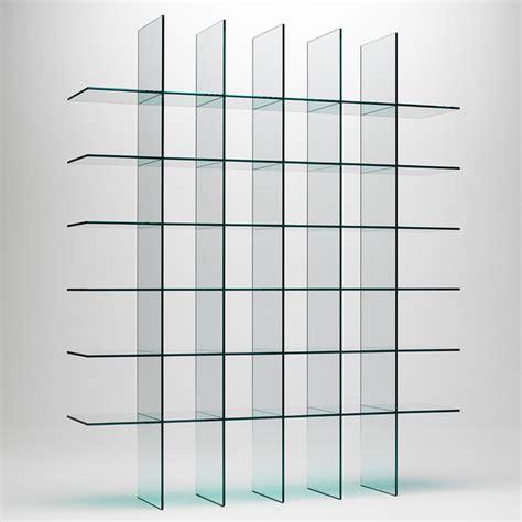 glass display shelves glas italia glass shelves 1 bookshelf modern display