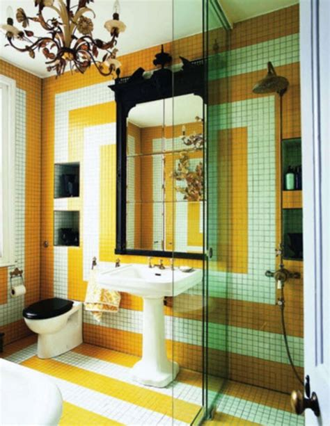 yellow tile bathroom ideas 34 yellow bathroom floor tile ideas and pictures