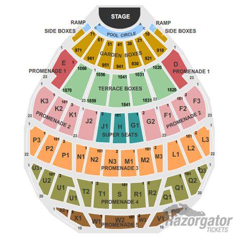 bowl seating view bowl seating chart view
