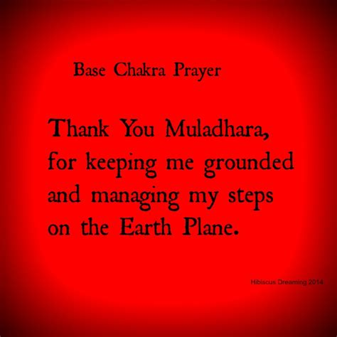 chakra prayer affirmations and prayers