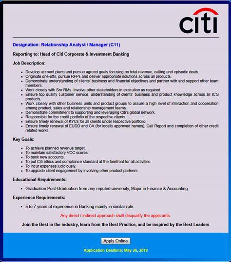 Pacific Anlaytics Mba Internship Summer 2018 At Pacific by Citibank N A Bangladesh Circular 2018