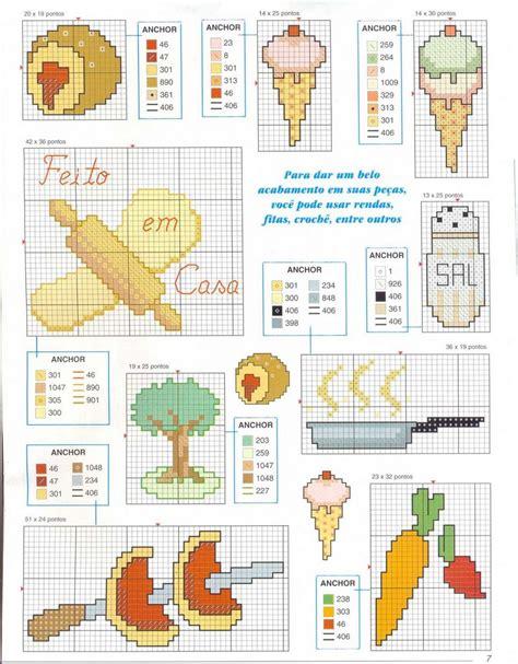 Schemi Punto Croce Per Cucina - schema punto croce cucina 02