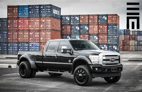 f350 dually wheels powerstroke f350 on black dually wheels by exclusive