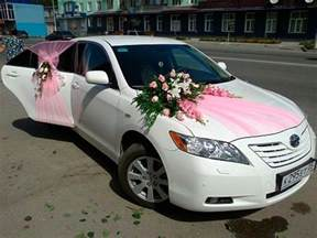 wedding car decor decoration