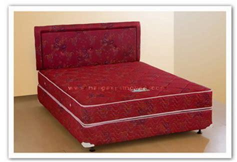 Uniland Platinum Single Pillowtop 100x200 Komplit Set Sandaran Manila uniland bed uniland harga uniland murah