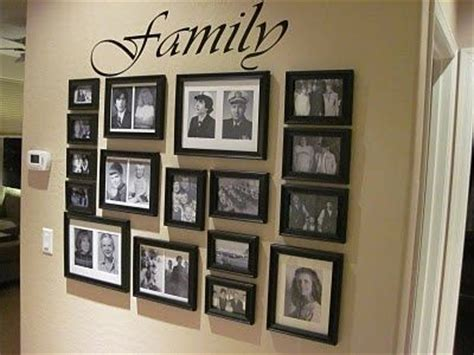how to arrange pictures on a wall without frames family picture arrangements maybe down hallway