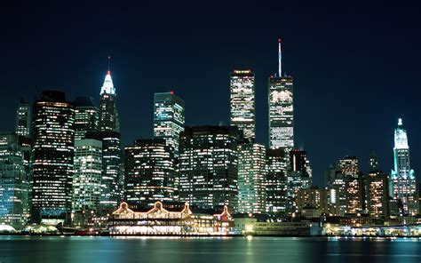 City Lights Wallpaper by City Lights New York Usa Wallpapers And Images Wallpapers Pictures Photos