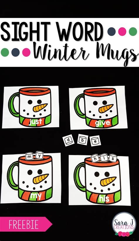 5 Letter Words Related To Winter 373 best sight word activities images on