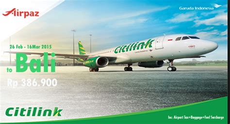 citilink ke singapore promo tiket pesawat citilink 26 feb 16 mar 2015 airpaz