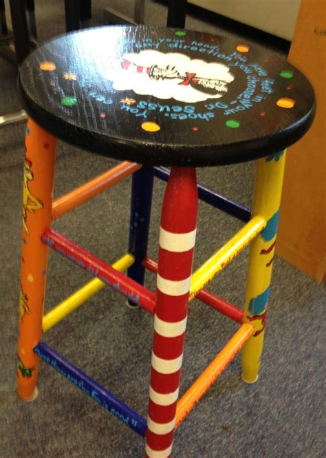 Stool Painting by 17 Best Images About Painted Stools On