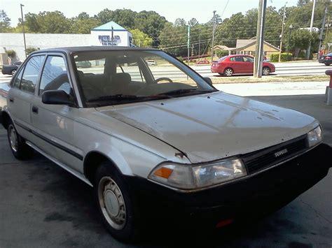 1989 Toyota Carolla 1989 Toyota Corolla Exterior Pictures Cargurus