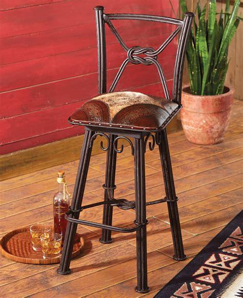 western bar stools wrought iron western furniture set of 3 coronado iron barstools with