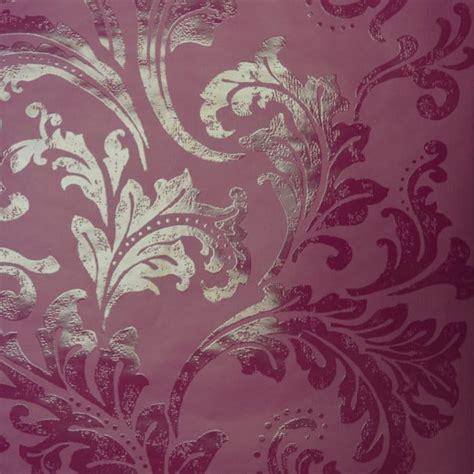 colours cocktail plum floral wallpaper departments diy designer selection acanthus berry wallpaper purple plum