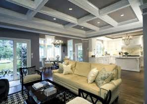 coffered ceiling paint ideas i love this ceiling my future home pinterest grey