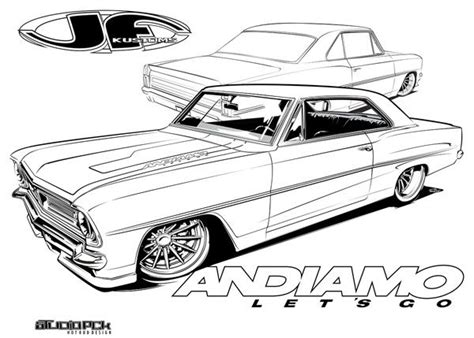 hot rod cars coloring pages 11 best problem child customs coloring pages images on