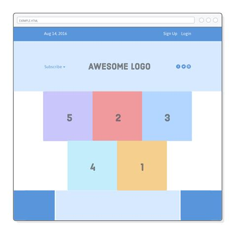 flexbox layout exles flexbox tutorial html css is hard