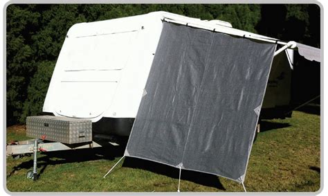 caravan awning side walls pop top caravan privacy end side wall 1850 x 2050mm sun shadecloth awning ptaeps ebay