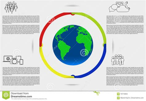 green biz trends for earth month infographic industry infographics with earth planet earth infographic stock