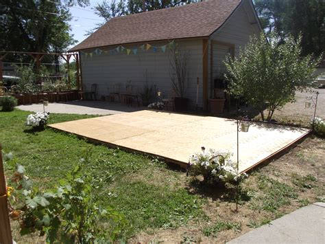 backyard dance floor creating a dance floor from recycled pallets our