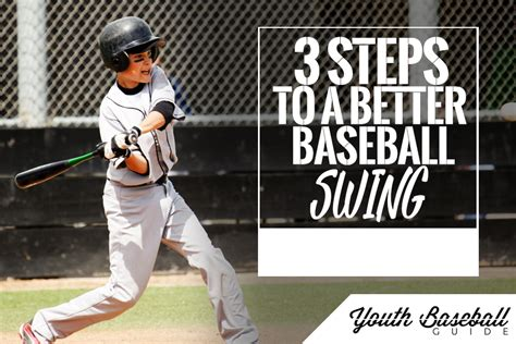 baseball swing steps 3 steps to a better baseball swing best youth baseball bats