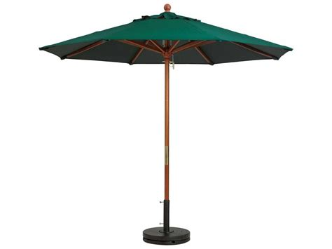 7 Foot Patio Umbrella Grosfillex Classic Wood 7 Ft Wooden Market Umbrella 98942031