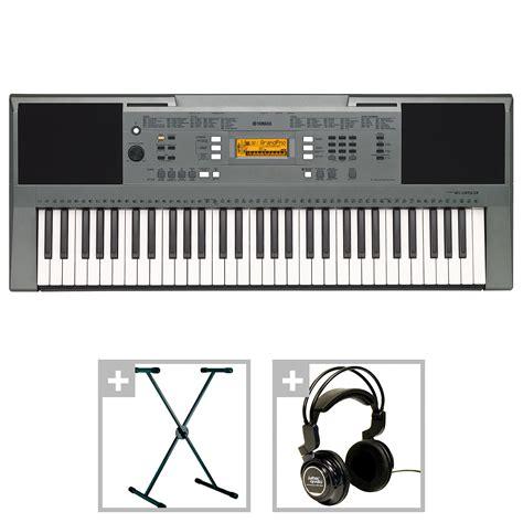 yamaha keyboard lighted keys yamaha psr e353 bundle i 171 keyboard