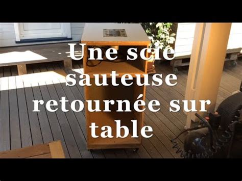 table pour scie sauteuse scie sauteuse sur table