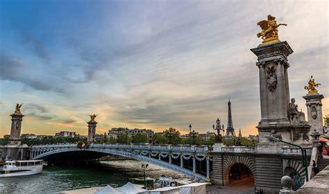 Beautiful Eiffel Tower by Pont Alexandre Iii Bridge In Paris Thousand Wonders
