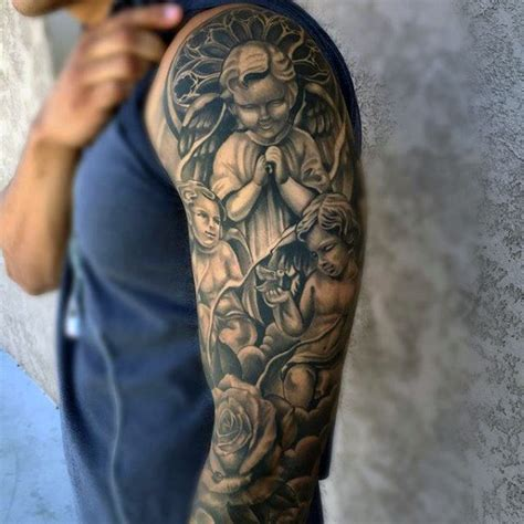 heaven tattoos for men 50 heaven tattoos for higher place design ideas