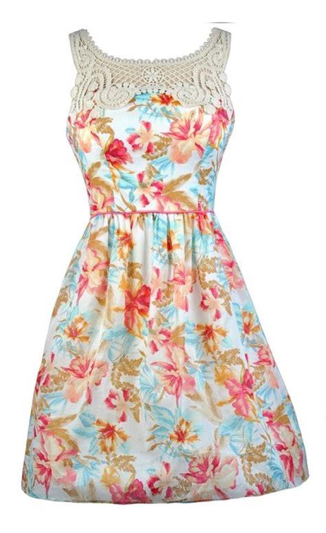 Flower Printed Puffball Skirt For A Summer Garden by Floral Dress