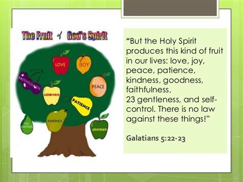 fruits of the holy spirit fruit of the holy spirit