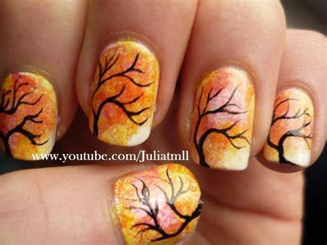 Fall Tree Nail