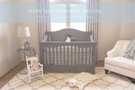 Home Interior Decorating Parties boy nursery