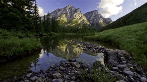 imagenes relajantes gif time lapse rockies gif find share on giphy