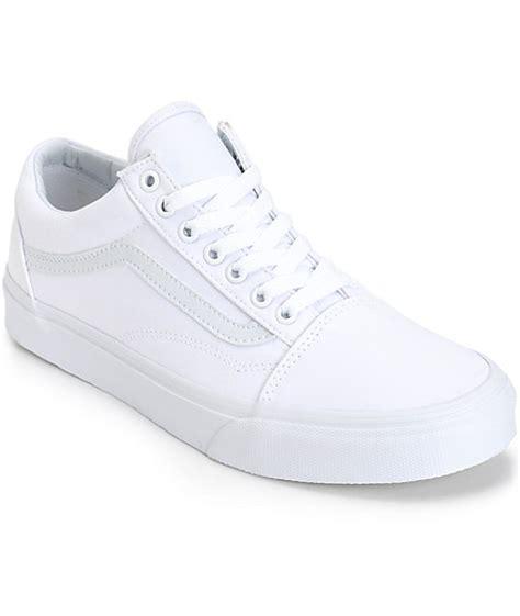Vans Skool Classics Canvas Black Dope vans skool mono skate shoes mens at zumiez pdp